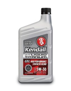 5W-30 Kendall GT-1 High Performance Synthetic Blend